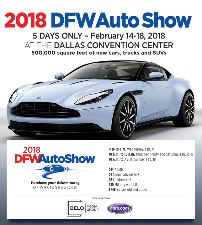 Douglas Jones | DFW Auto Show in Dallas