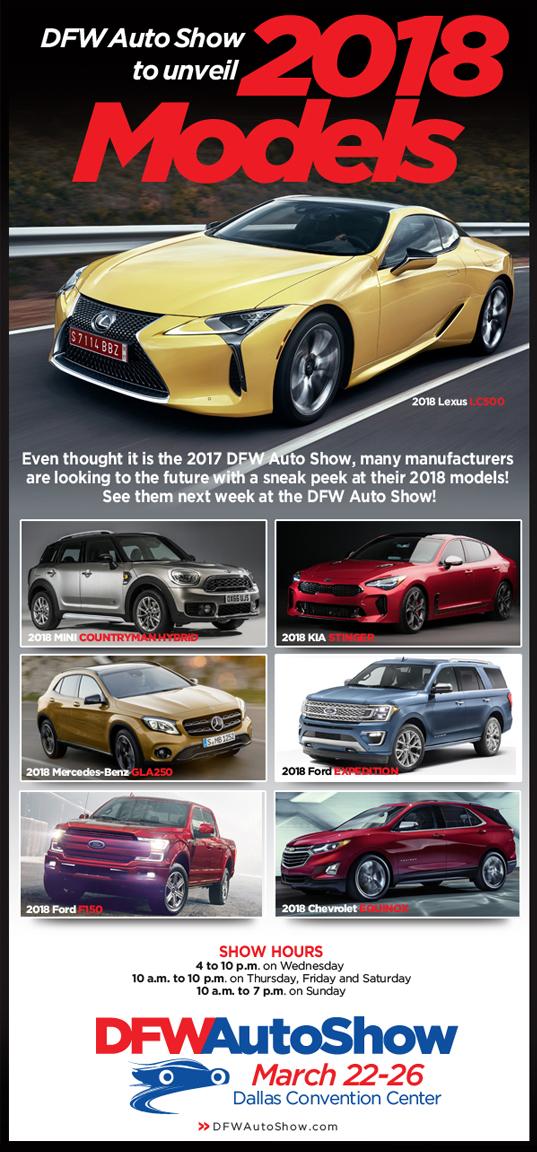 Douglas Jones DFW Auto Show In Dallas - Dallas car show 2018